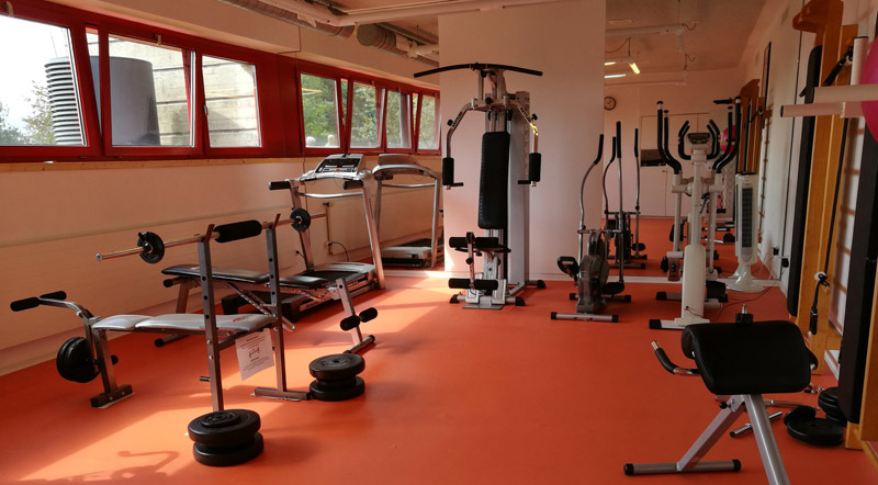 Hotel Serpiano fitness room